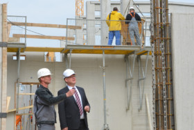 The construction of Scheuch LIGNO GmbH is taking shape