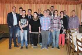final apprenticeship examination passed: Eight newly qualified specialists at Scheuch